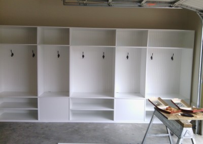 Sport Shelves in Garage